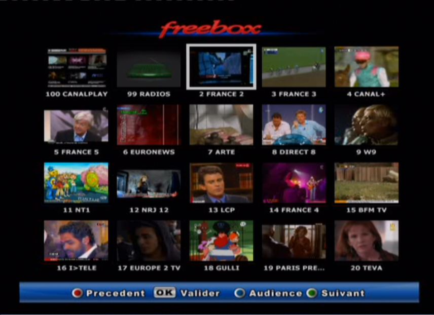 Mosaique FreeBox